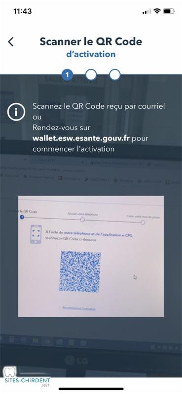 scanner QR code application e-cps